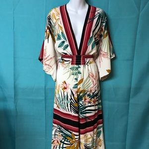 Fashion Nova Kimono Style Jumpsuit